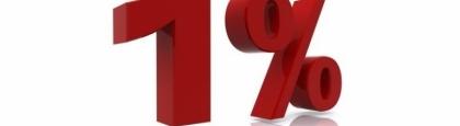 Acel procent de 1%
