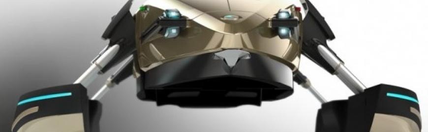 Designul futurist al ambarcatiunii Kormoran